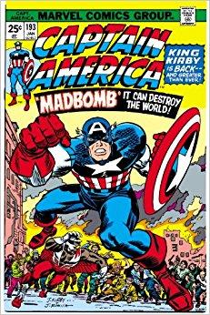 Captain America Jack Kirby